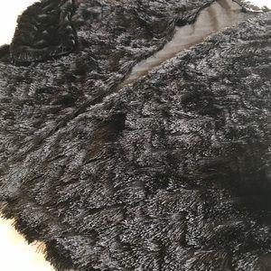 H&M | Fringe Open Front Jacket